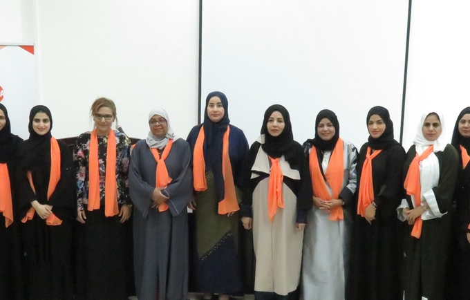 OWA in orange joins the 16 days of activism campaign